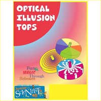 Optical illusion tops (SET OF 5)