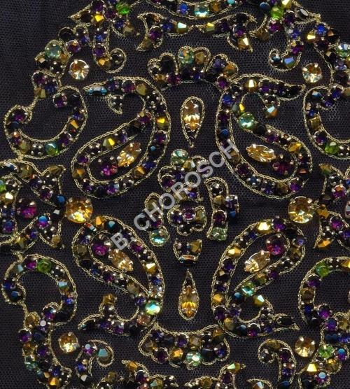 Embroidered Crystal Work