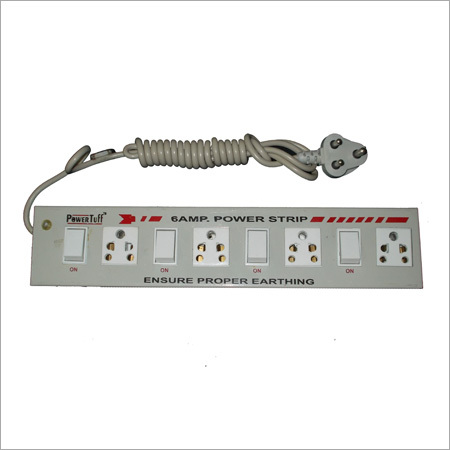 6 A 4+4 Metal Power Strip