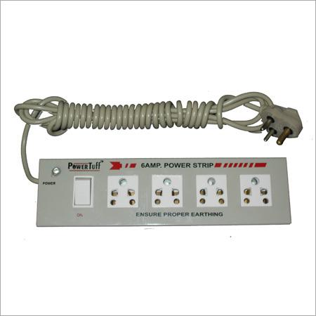 6 A 4+1 Metal Power Strip