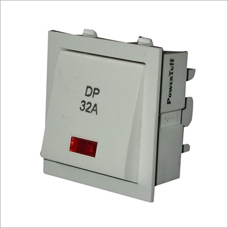 32 A D.P Switch With Indicator
