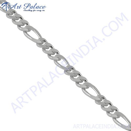 2013 New Arrival Simple Plain Silver Chain, 925 Sterling Silver