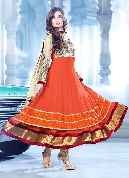 Latest anarkali dress