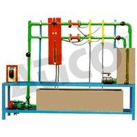 Closed Circuit Apparatus for Determination of Flow Through Venture Meter and Orifice Meter