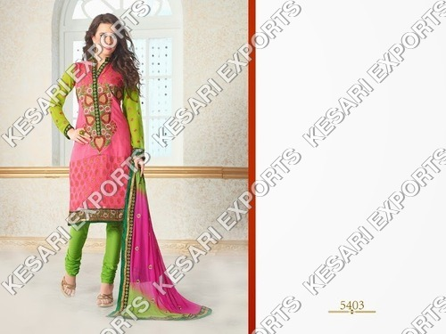 Chanderi Cotton Designer suits