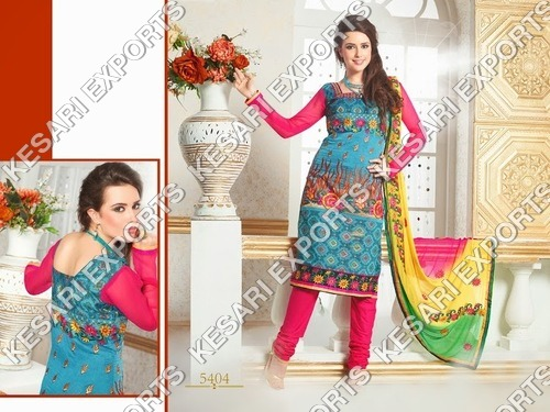 Chanderi suits design