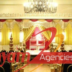 Raj mahal style wedding stage