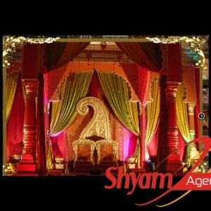 King Wedding Mandap