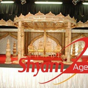 Indian marriage Mandap