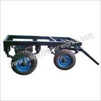 Four Wheeler Brake Type Trailer