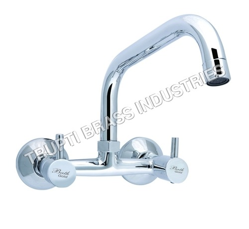 Sink Mixer With Extended Swinging Spout