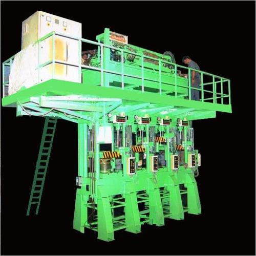 4 Station Molding Press