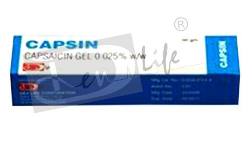 Capsaicin Gel