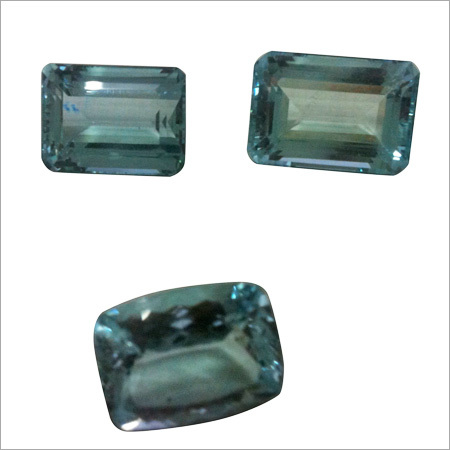 Aqua Cut Gemstones