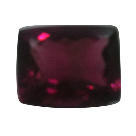 Ruby Lite Octangle Pear Stone