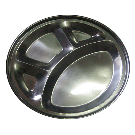 Steel Compartment Tray