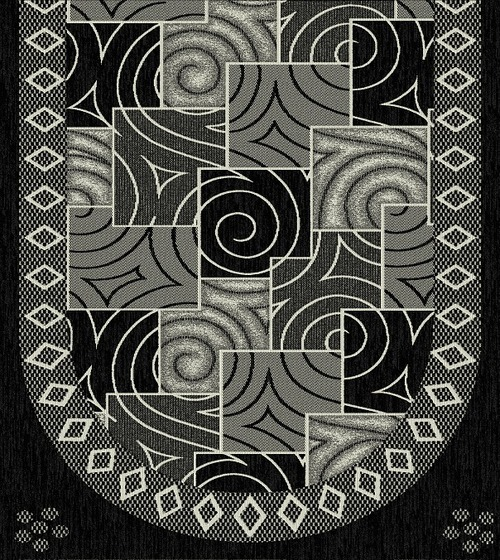 Black Sofa Panel