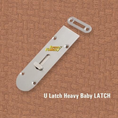Brass Fancy Baby Latch