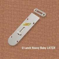 Brass Fancy Baby Latch