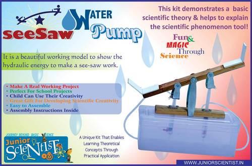 SEE SAW WATER PUMP