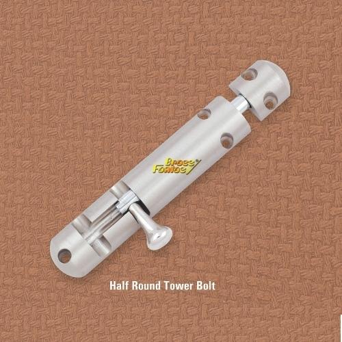 Half Round Tower Bolt