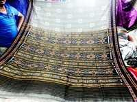 100% cotton Ikkat sarees of India