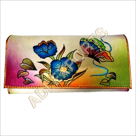 Colorful Leather Purse