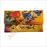 Hand Painted Leather Purses