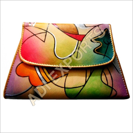 Ladies Colorful Leather Purse