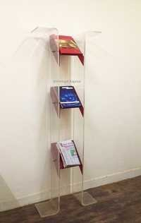 Acrylic Magazine Stand