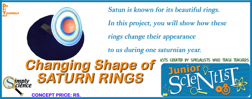 Changing Shape Of Saturn Rings