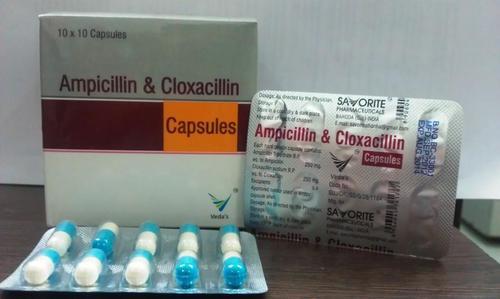 Ampicillin & Cloxacillin