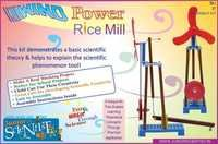 WIND POWER RICE MILL