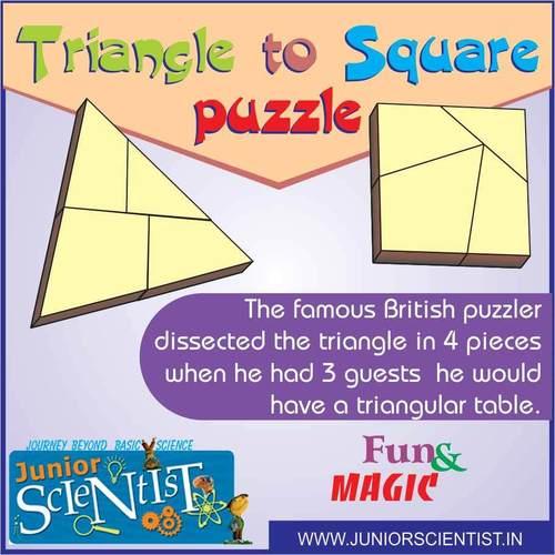 triangle to square puzzle