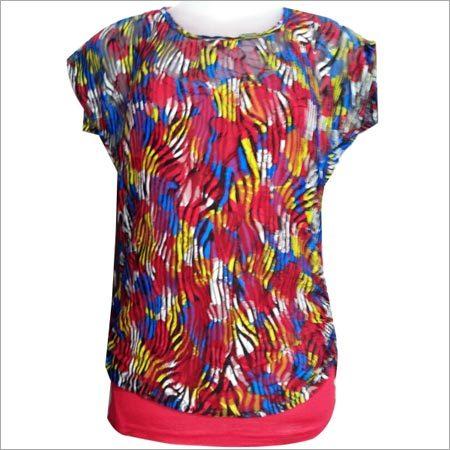 Ladies Short Sleeve Tops