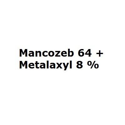 Mancozeb 64 + Metalaxyl 8 %