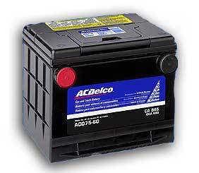 Electrical AC Delco Battery