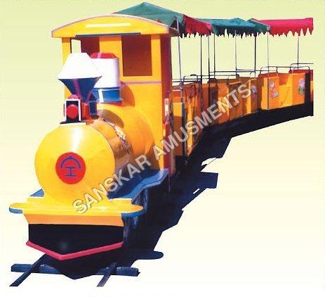 Amusement Park Toy Train