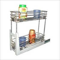 Mechanism Bottle Pull Out Basket
