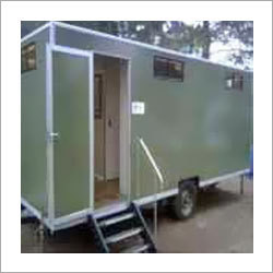Portable Mobile Toilet Van