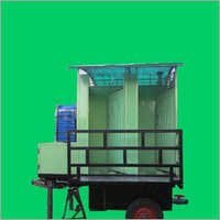 4 Seater Mobile Urinal Trolley