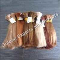 Blonded Bulk Hair