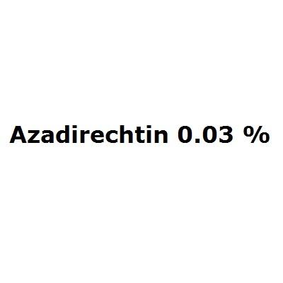 Azadirechtin 0.03 %