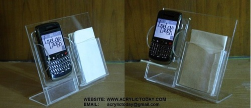 Acrylic Mobile Display for THE MOBILE STORE