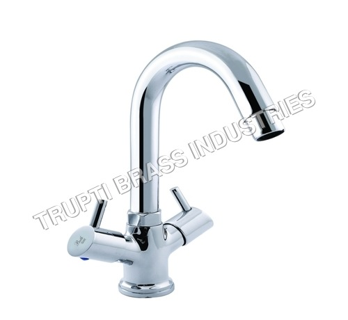 Basin Mixer Central Hole With Regular Spout