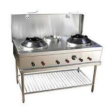 Double Burner Cooking Range