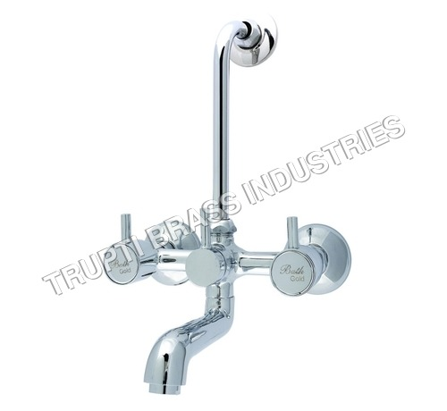 Wall Mixer With Arrangement Of Overhead Shower