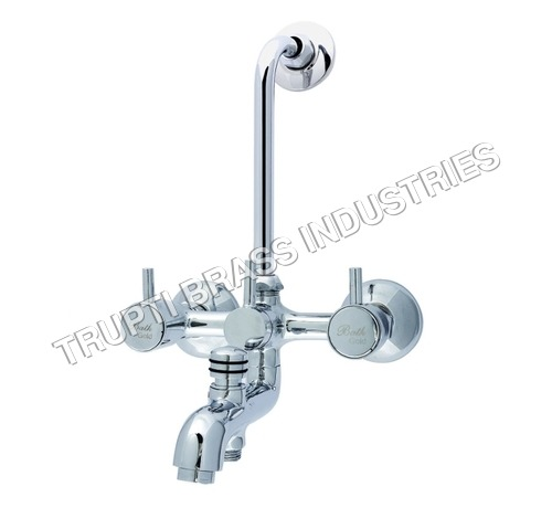 Wall Mixer 3 in 1 With Provision Of Both Telephone