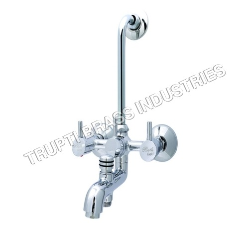 Wall Mixer 3 in 1 With Provision For Both Telephon