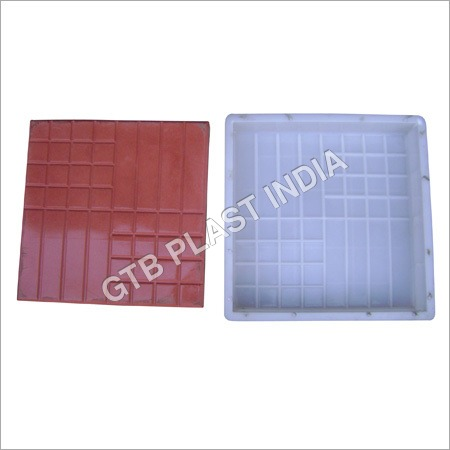 Chequered Tiles Plastic Moulds
